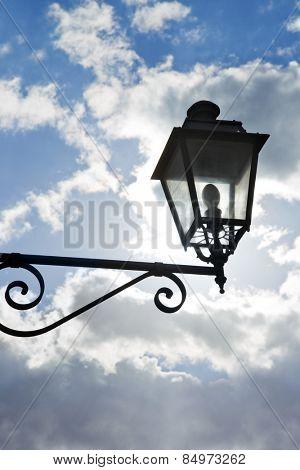 Low angle view of a lantern, Lantern, Alberobello, Bari, Puglia, Italy