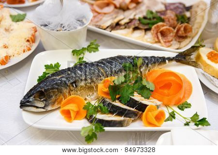 Large Smoked Mackerel