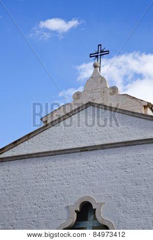 Low angle view of a cathedral, Alberobello, Bari, Puglia, Italy