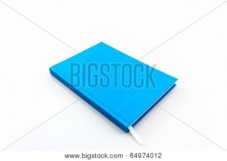 Blue Diary Book .