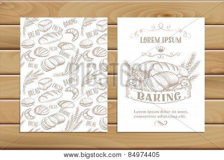 banner  baking  hand drawn