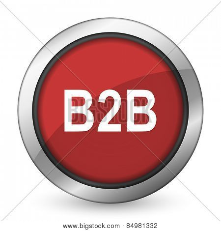 b2b red icon