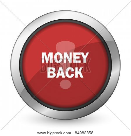 money back red icon