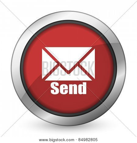 send red icon post sign