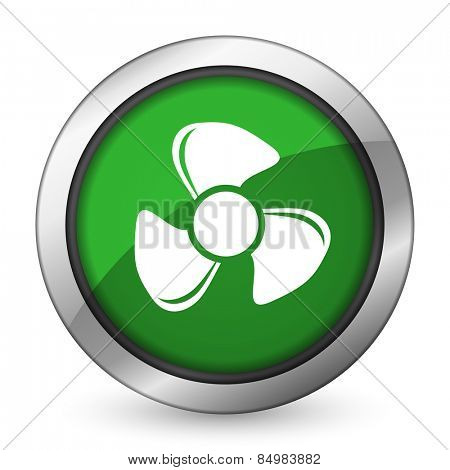 fan green icon