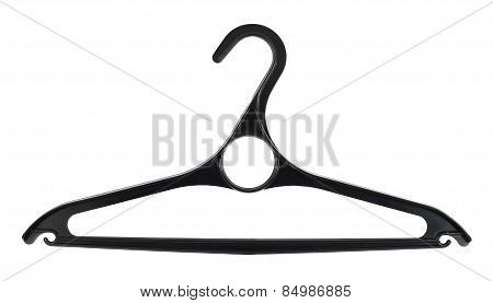 Clothes coat hanger isolated