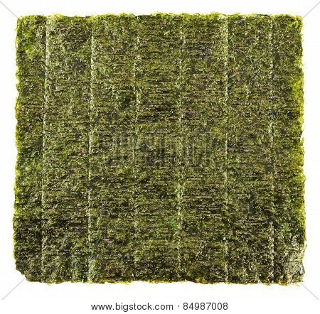 Nori edible seaweed sheet