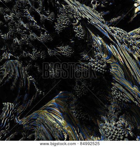 Abstract Fractal Landscape