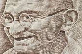 pic of mahatma gandhi  - Close - JPG