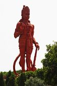 foto of hanuman  - Idol of Lord Hanuman at a temple - JPG