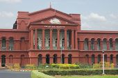 picture of karnataka  - Facade of a courthouse - JPG