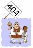 stock photo of politician  - Illustrative representation of Indian politicians protesting - JPG