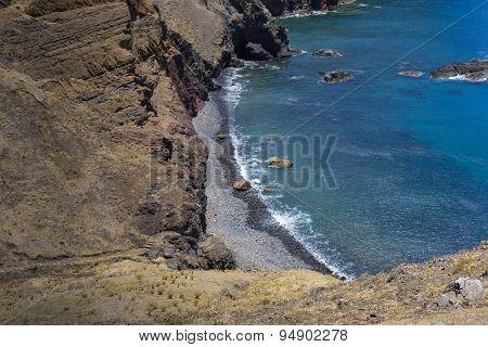Ponta De Sao Lourenco, The Eastern Part Of Madeira Island, Portugal.