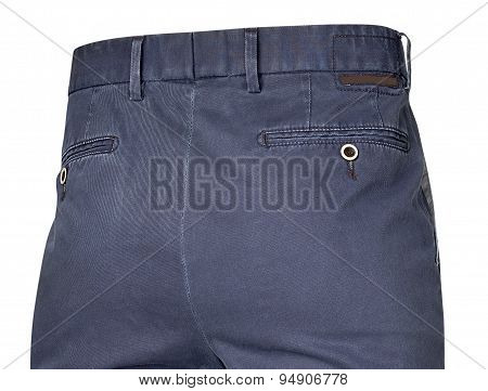 Pants For Men Isolated On White With Clipping Path