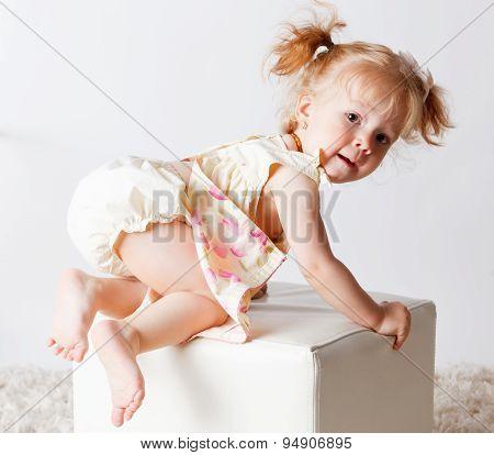 Portrait Of A Pretty Baby Girl