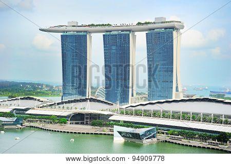 Marina Bay Hotel, Singapore