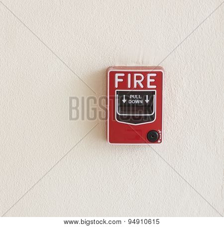 Emergency Button Fire Break Glass