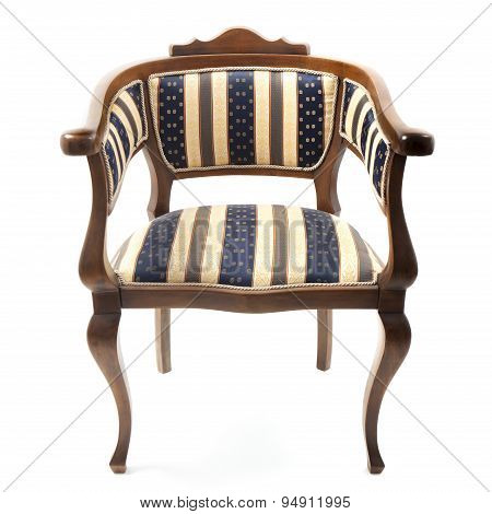 Old Armchair In Retro Style