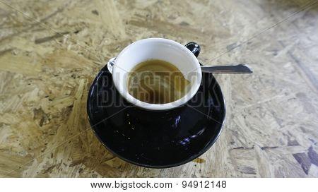 Empty Coffee Espresso Cup