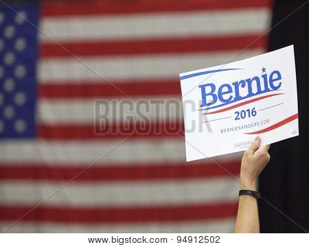 Bernie Sanders For President Sign