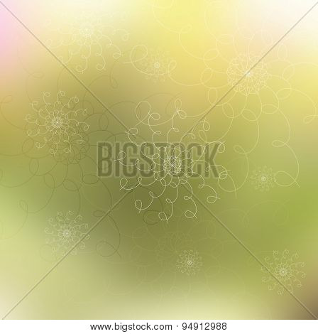 Abstract bright blurred background. Vector design