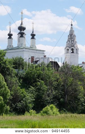 Alexandrovsky monastery in Suzdal, Russia