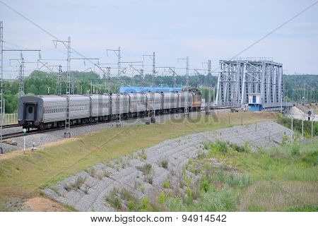The image of train
