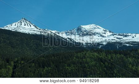 Mountains in Skagway