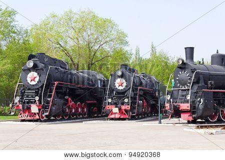Rail Road Locomotive