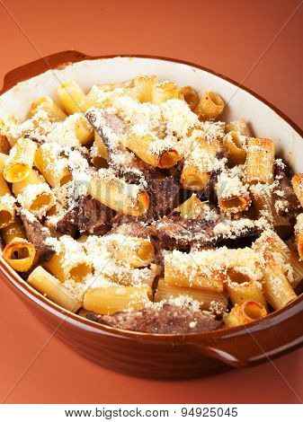 Macaroni With Veal Casserole