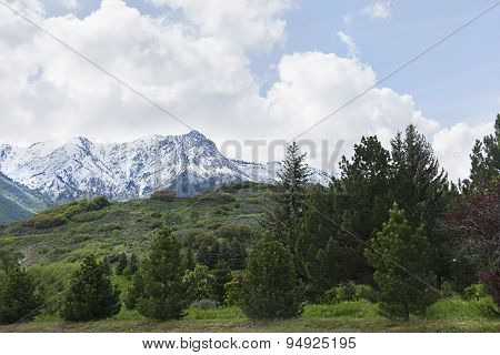 Ogden peak in northern utah ski locations