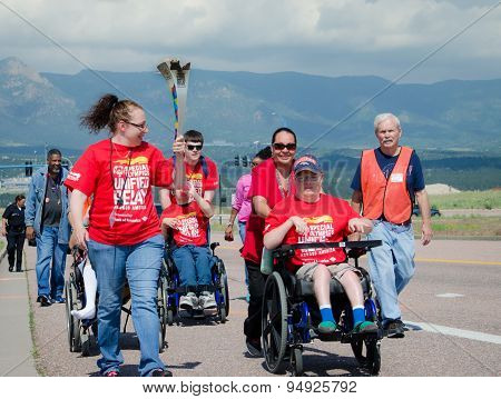 2015 Special Olympics Unified Relay Across America