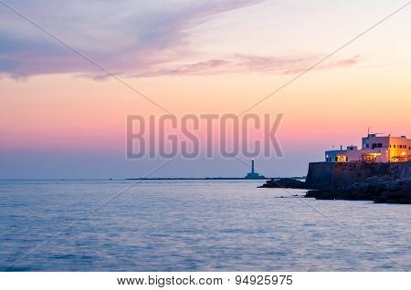 Gallipoli At Sunset, Puglia (italy)