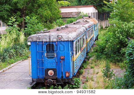 Children's Railway In Uzhgorod, Ukraine