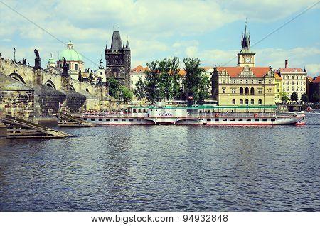 Historical Center Of Prague.