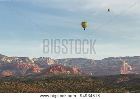 Hot Air Balloon Ride In Sedona