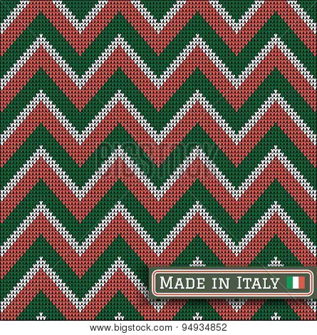 Knitting Italy Colors Pattern Sweater Battlement2