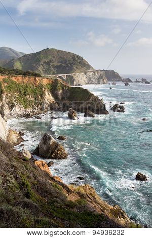 Dramatic Coast-line