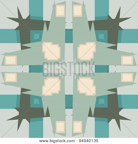Abstract Pointy Wallpaper Pattern
