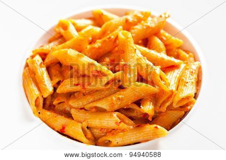Pasta Collection - Penne With Cream And Peppers