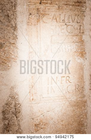 Ancient Stone Background.