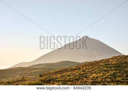 Desert Landscape in Volcan Teide National Park