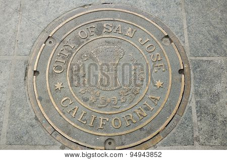 San Jose Manhole Cover