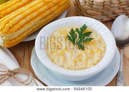 Brazilian Corn Soup Canjiquinha