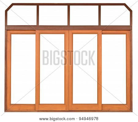 Sliding Wood Window