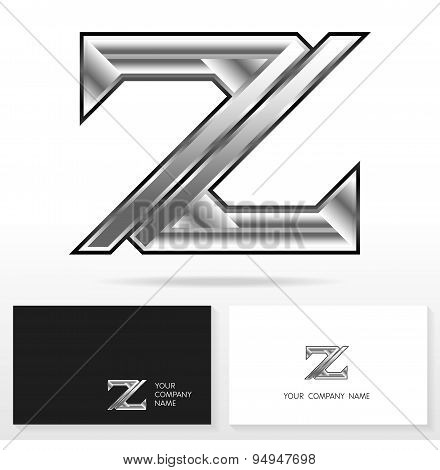 Letter Z logo icon design template elements - Illustration.