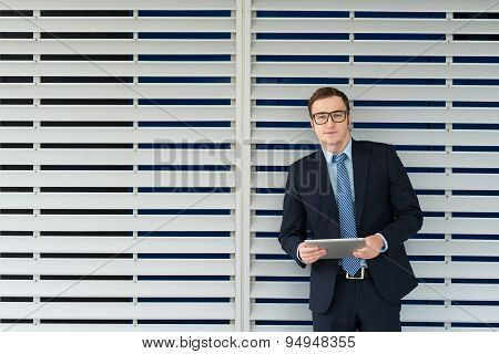 Businessman With A Digital Tablet