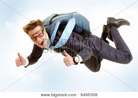 Man Flying