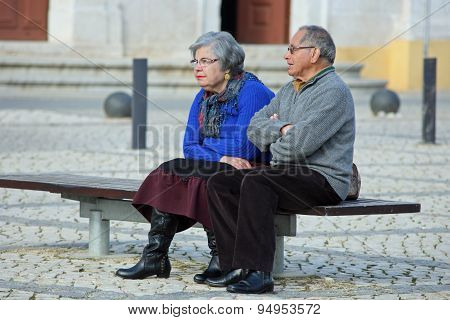 Portimao, Portugal - Retired couple