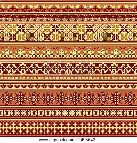 Textile Floral Pattern